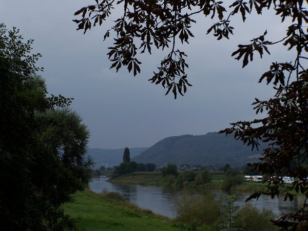 natur, september, weser