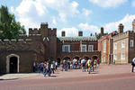 London, St. James´s Palace. Hier wohnt der Prince of Wales.