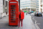 London - Telephone. Hallo, Peter, ich rufe Dich an!
