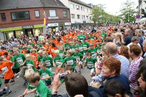 Start des 2-Kilometer-Felds