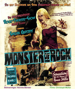 Monster Of Rock Eine Rock-Theater-Trash-Horrorfilm-Klamauk-Hörspiel-Show mit Sascha Gutzeit