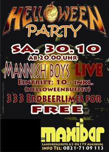 Das nächste Highlight steht in den Startlöchern - Maxibar am 30.10.2010 Halloweenparty