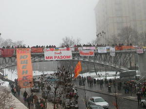 Orange Revolution.  2004 Kiew.