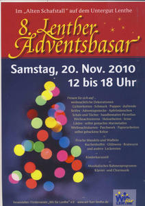8. Lenther Adventsbasar