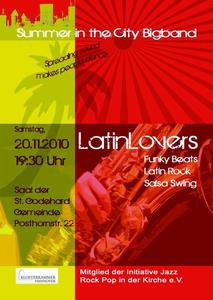 Latin Lovers mit der Big Band 'Summer in the City'