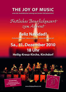 The Joy Of Music probt in Bergkirchen für Adventskonzert
