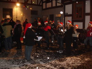 Adventsmusik in Erfurtshausen am 04.12.2010