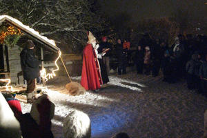 Adventsfest in der Kita St. Gallus, Steppach