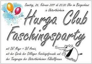 Hurga Club Faschingsparty 2011