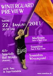 Starriders Winterguard Preview