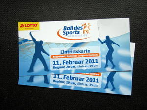 Die Ballsaison in Hannover: Ball des Sports 2011