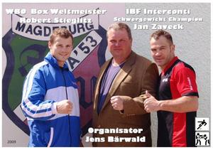 Magdeburgs Boxer in Cooperation mit Jens Bärwald