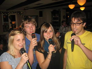 Daniel´s Karaoke Party am 12.03.11 im Pflugwirt bei Wolfi in Thannhausen