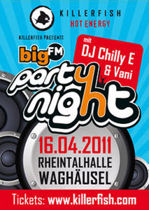 Killerfish presents BigFM Party Night