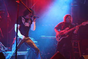 Heavy Metal Band 'PHARAO' auf dem SAOL Festival in Hannover