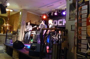 The Rock - live rock on stage- im Brauhaus 1516