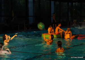 Streetworker's Poolparty 2011 - Stadtbad wird zur Disco