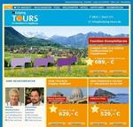 Relaunch Website Kolping Tours Augsburg online
