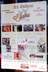 21. Mai 2011 - 15 Jahre Cheers Hannover Nordstadt