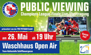 UEFA Women's Champions League: Public Viewing am Donnerstag in Potsdam