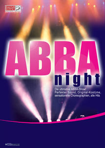 ABBA-Night - Die ultimative ABBA-Show!