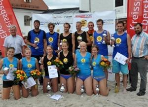 Lohhofer Beacher starten bei BVV-Beach-Masters in die Saison