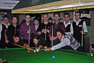 BSV Playhouse FFB veranstaltet 1. Snooker Night Event 2011