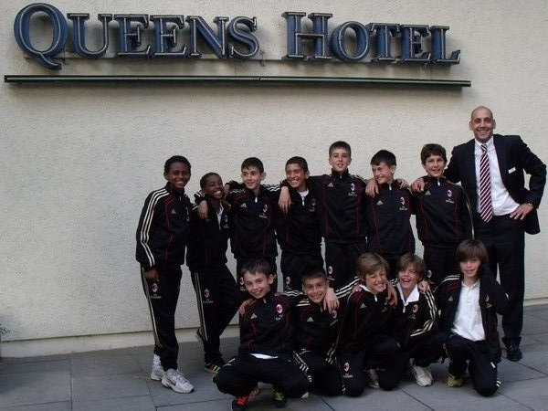 fußball, kirchrode, queens-hotel-hannover, luciano-onnis