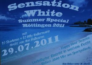 Sensation White (Summer Special Möttingen 2011)