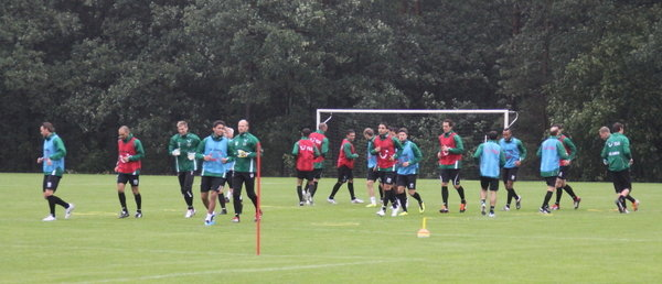 Hannover 96 im Trainingslager