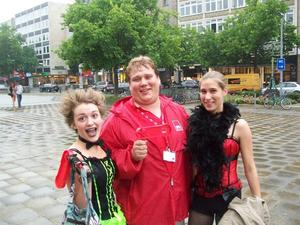 Premiere der Rocky Horror Show in Hannover