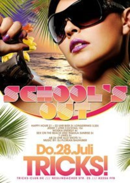 party, partynacht, tricks, schools-out-party, partyabend