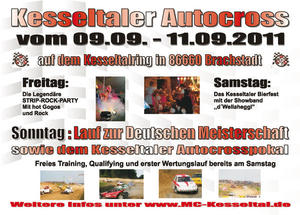 24. Kesseltaler ADAC Autocross; Strip-Rock-Party ; Bierfest