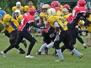American Football in Sievershausen, am 13. August 2011