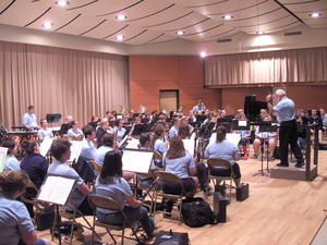 Musikdirektor Manfred-Andreas Lipp im Blue Lake Fine Arts Camp: 'Never, never, never give up!'