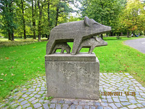 Der Tiergarten in Hannover am 13. September 2011.  Video