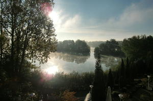 Morgenimpression am See
