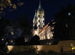 Abendstimmung am Naumburger Dom