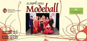 2012 wieder Modeball in Altenburg