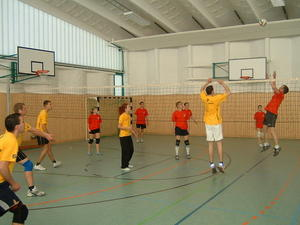 Volleyball–Turnier der Jugendclubs!