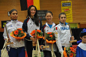 26. Weltcup Turnier,  Junioren-Damenflorett in BOCHUM