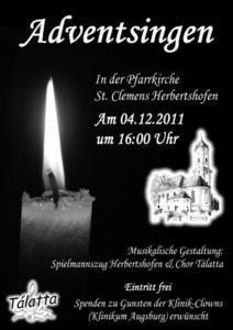 Adventskonzert in Herbertshofen