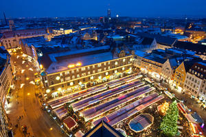 Augsburger Christkindlesmarkt im Advent