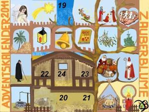 18. Fenster Adventskalender 2011  - Komet
