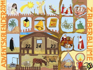 21. Fenster - Adventskalender 2011 - Ochs in Boxen