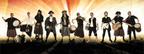 """Blackbeard""   -   Pirates, Kilts and Drums"