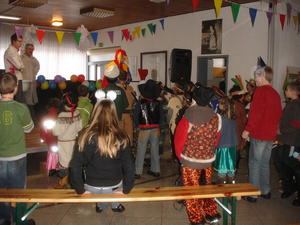 Kinderfasching in Ebsdorf am 19.02.2012