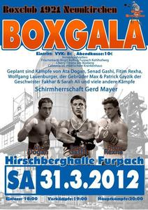 Boxgala 2012 Furpach/Hirschberghalle