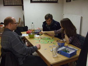 Carcassonne, Monopoly und Phase 10