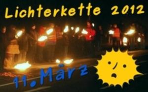 Lichterkette in Otze